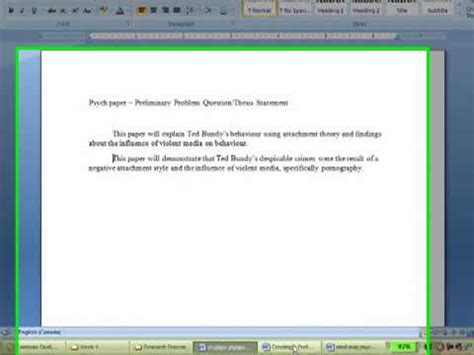 Thesis Statement For Developmental Psychology by Thesis Development Psychology Exle