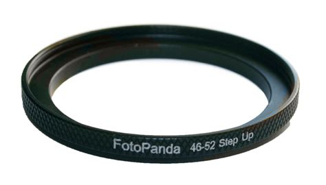 Step Up Ring 46 52 aluminium 46mm to 52mm 46 52 step up filter ring