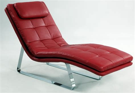 red leather chaise lounge corvette red leather chaise lounge chintaly corvette lng red