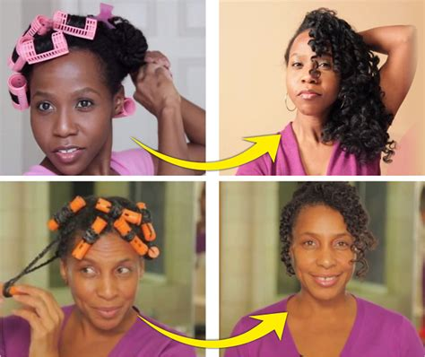 how to set different styles with rollers magnetic roller twist set a simple way to stretch your