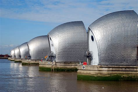 thames barrier environmental impact on view gt designing for disaster at the national building