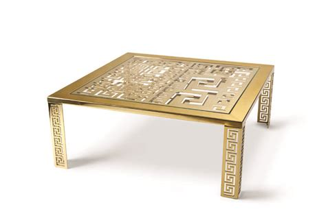 Versace Table table the issue interior design by luminaire versace