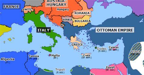 ottoman empire italy italo turkish war historical atlas of europe 17 may