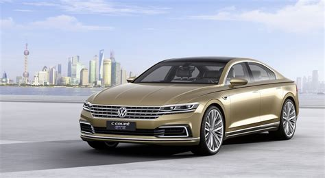 new volkswagen sedan vw c coupe gte concept provides a glimpse at the future of