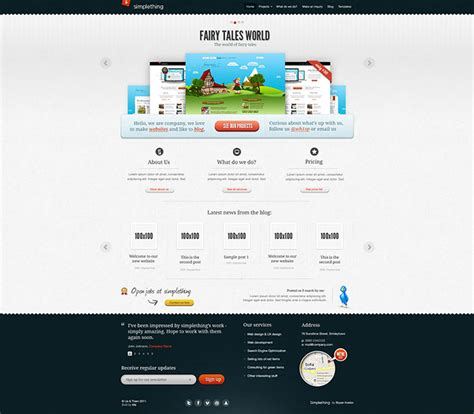 templates website photoshop 95 beautiful photoshop website templates web graphic