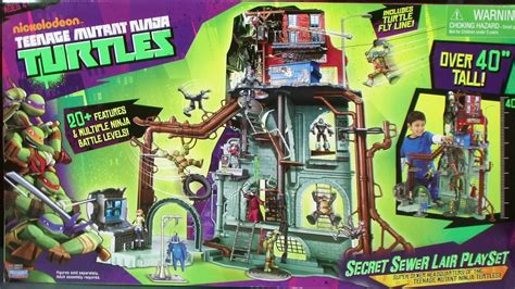ninja turtle house unboxing teenage mutant ninja turtles house youtube