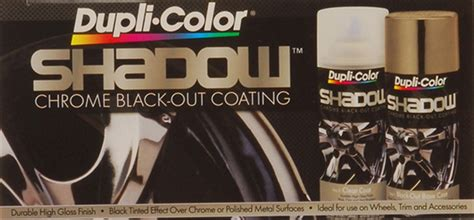 dupli color shadow dupli color paint shd1000 shadow chrome black out coating