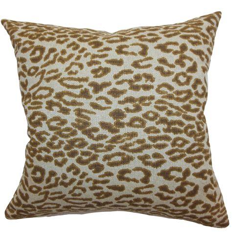 Leopard Pillow by Leopard Home Decor