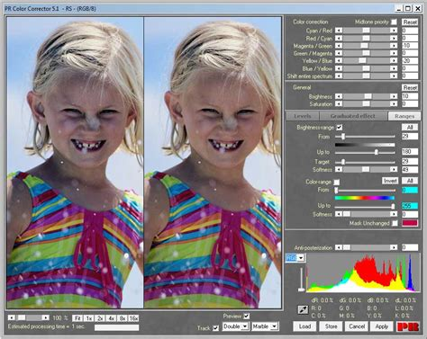 advanced color correction photoshop in