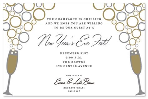 New Year Invitation Letter Exle Dating Formal Letter