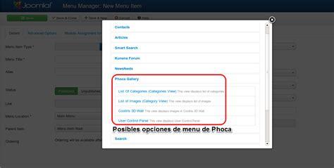 phoca gallery themes joomla 3 0 phoca gallery en joomla 3 paso a paso videojuegos y open