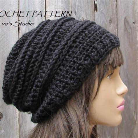crochet easy hat for women tutorial 10 part 1 of 2 crochet hat slouchy hat crochet pattern pdf
