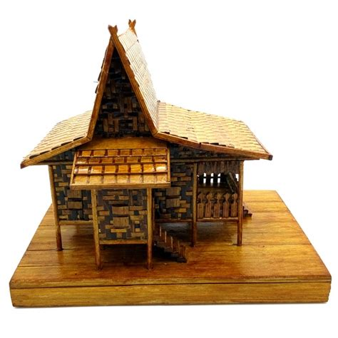 membuat rumah joglo cara membuat miniatur rumah adat riau rumah en