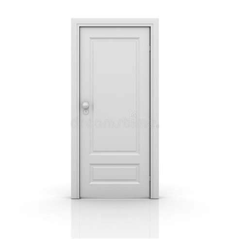 A Closed Door isolated closed door stock illustration illustration of