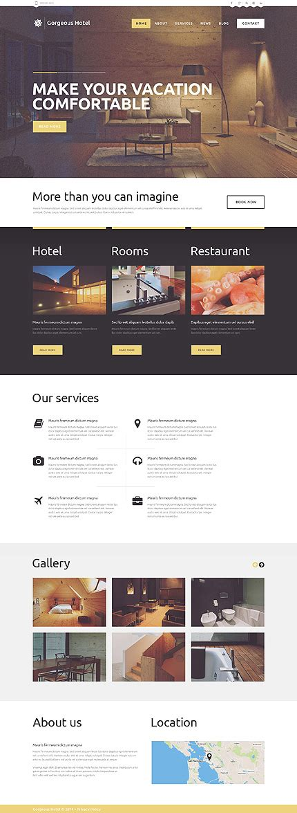25 best hotel wordpress themes with incredible design and