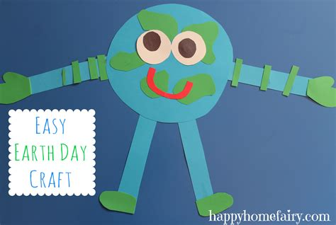 day easy crafts earth happy home