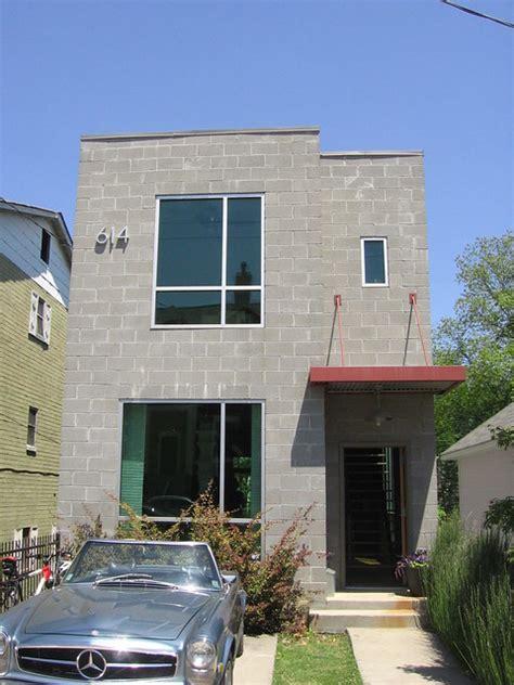 block house  irwin st ne atlanta modern homes