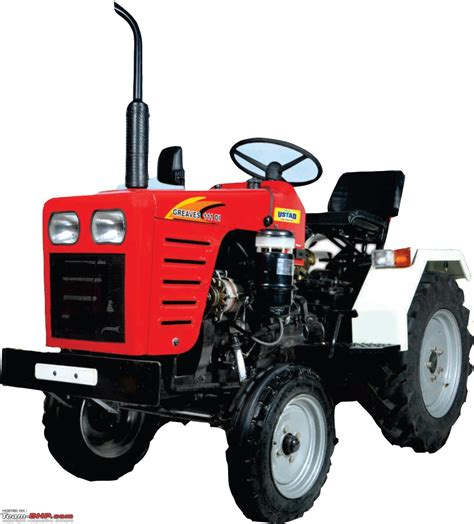 Mini Tractors greaves launches the ustad forays into mini tractor segment team bhp