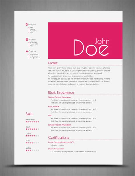 Plantillas De Curriculum Indesign 3 Plantillas Para Curriculums Vitae En Indesign Kabytes