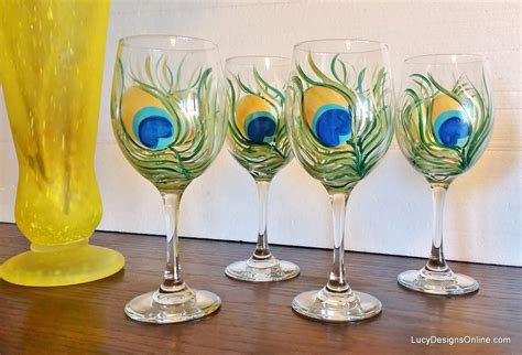 wine glass painting 15 painted wine glass designs the perfect diy