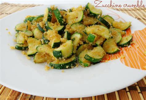 come cucinare le zucchine come contorno zucchine crumble ricetta contorno di zucchine veloce