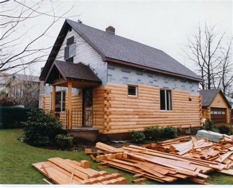 25 best ideas about log siding on log cabin