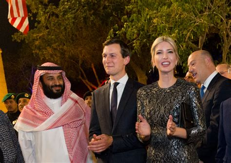 Image result for picture mbs and kushner and netanyahu