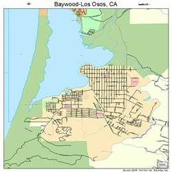 baywood los osos california map 0604541