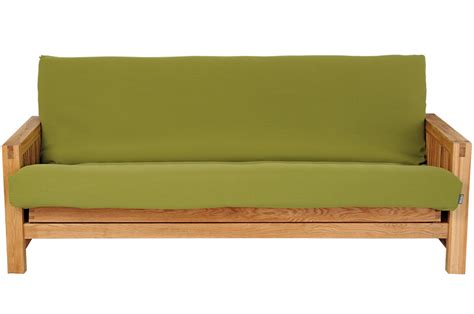 bed sofa uk 3 seater sofa bed in solid oak futon company