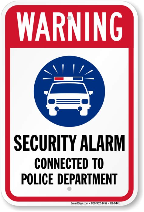 buy security security alarm signs free shipping