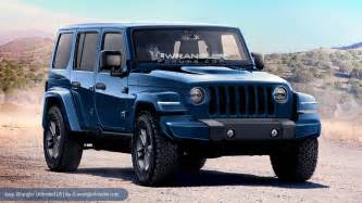 Wrangler Jeeps 2018 Jeep Wrangler Heading To Los Angeles Auto Show