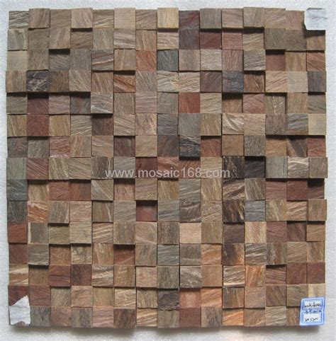 Interior Brick Wall Tiles by Irregular Wood Mosaic For Interior Wall Gmr 04 Gimare