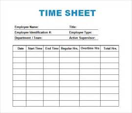 Time Recording Template by Sle Log Template Documents In Pdf Word Excel