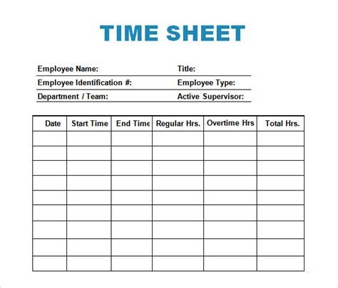 time recording template sle log template documents in pdf word excel