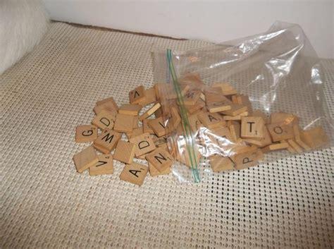 scrabble replacement parts scrabble tiles 98 pieces light wood replacements