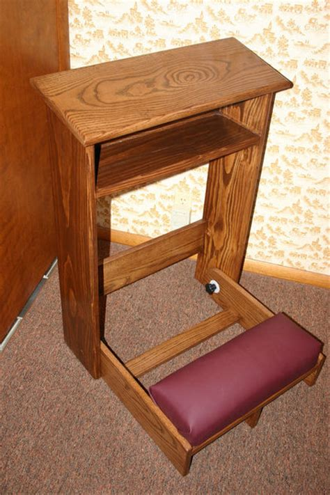prayer bench plans prayer kneeler by trabiman lumberjocks com