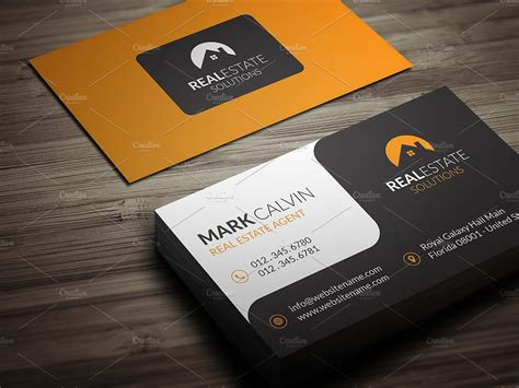 real estate business card design templates real estate business cards business card design inspiration