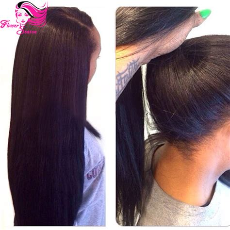 the wig mall wigs human hair lace front wigs full lace human hair lace front high ponytail wigs silky straight
