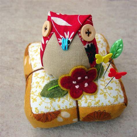 owl pincushion template owl pin cushion owls