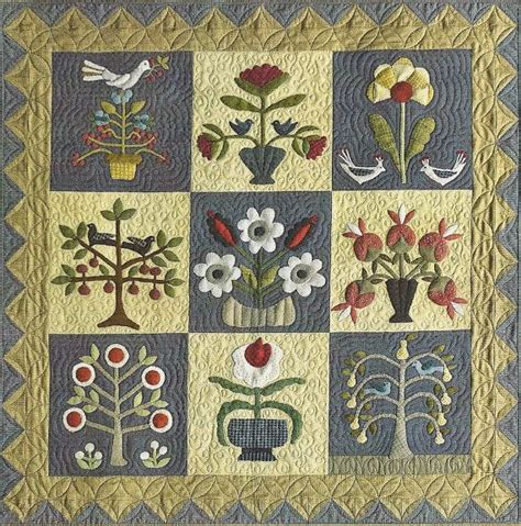 Applique Quilt Patterns 25 Best Ideas About Wool Applique Quilts On