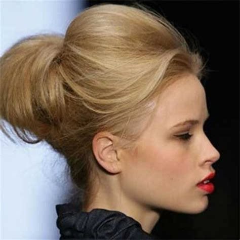 cute hairstyles in a bun cute bun hairstyles for short hair short hairstyles 2017