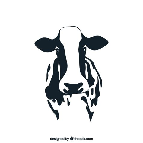cow pattern vector art cow vector free download