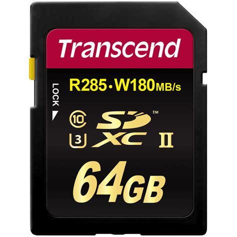 Memory Card Sdxc transcend 64gb ultimate uhs ii sdxc memory card u3