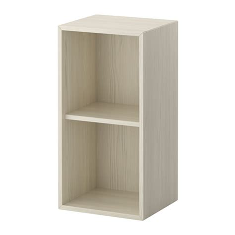 valje wall cabinet larch white