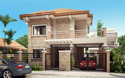 simple 2 story house plans 2018 php 2015023 four bedroom two storey contemporary residence house plans