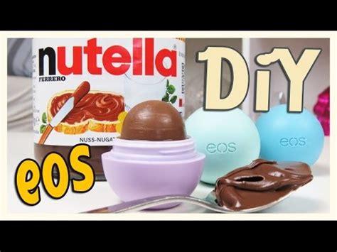 Nutella Lip Balm By Shoppasoap eos selber machen i diy eos cookie dough lip ba