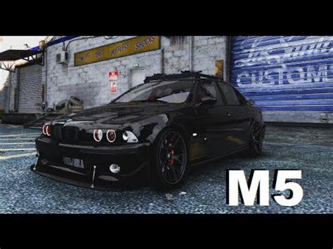 gta v pc mod bmw m5 e39 + free download youtube