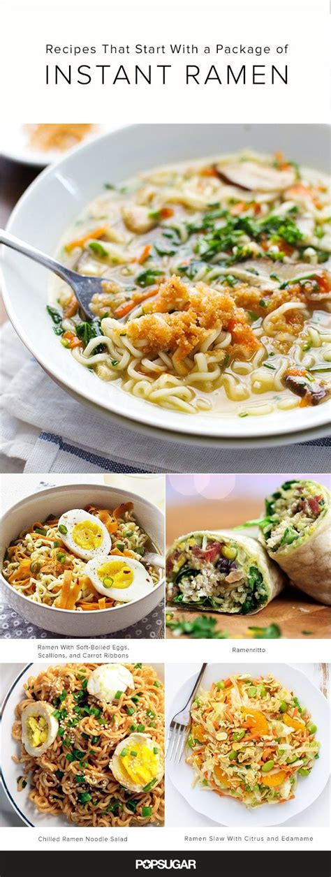 Ramen Aa 15 recipes that start with a package of instant ramen instant ramen tasty and ramen