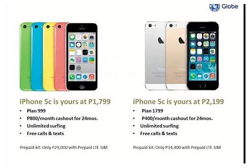globe iphone 5 plan freebies