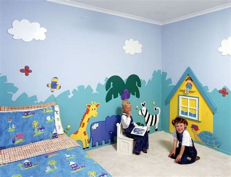 kids bedroom wall paintings wall murals for kids 2017 grasscloth wallpaper